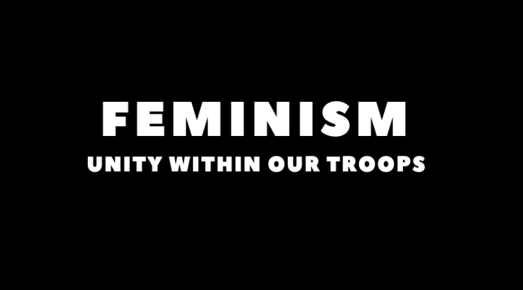 A FEMINIST WAR CRY_ HOW TO WIN BACK TERRITORY IN THE GYM, CREATE ALLIES WITHIN OUR RELATIONSHIPS AND UNITE OUR TROOPS.Add a little bit of body text (6)